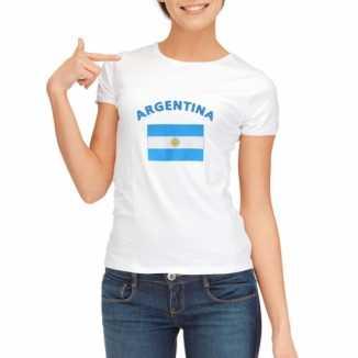 Argentijnse vlaggen t shirt dames