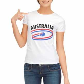 Australie vlaggen t-shirts dames