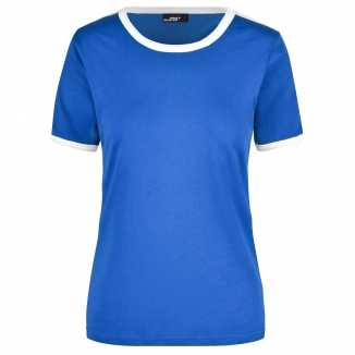 Blauw wit shirtje dames
