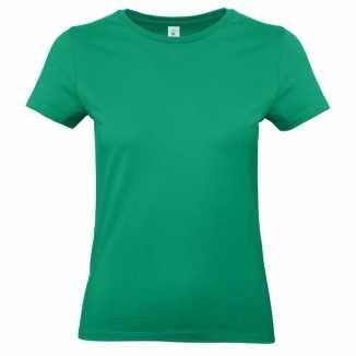 Dames t shirt groen ronde hals