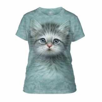 Dieren shirts kitten vrouwen