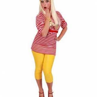 Dorus shirt rood wit dames
