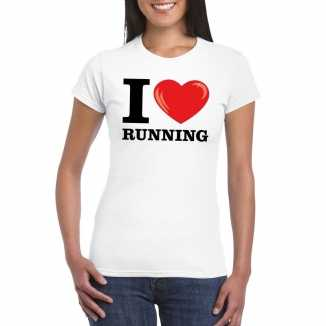 I love running t shirt wit dames
