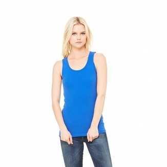 Kobalt dames shirt zonder mouwen