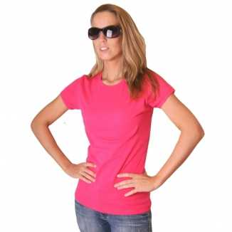 Roze Bella shirt dames
