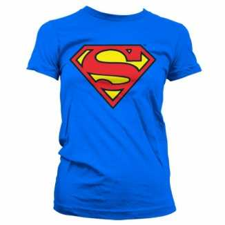Superman logo kleding dames shirt
