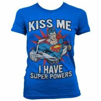 Superman power kleding dames t-shirt