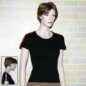 T shirt zwart nl kleuren bies