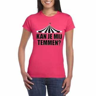 Toppers t shirt roze temmen dames