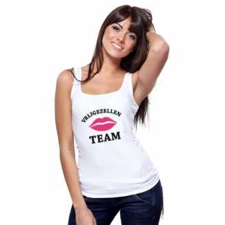 Vrijgezellenfeest-shirt tanktop dames