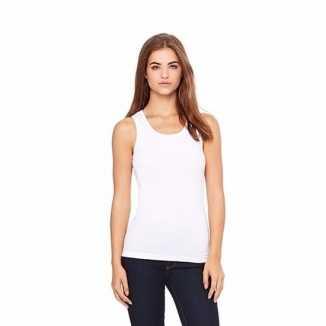 Wit dames shirt zonder mouwen